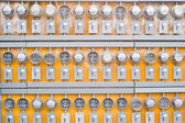 Electricity Meters — Stock Photo