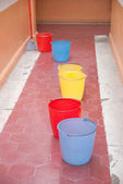 Buckets of Color — Stock Photo