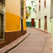 Empty Street in the Old World — Stock Photo