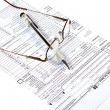 Preparing Taxes - Stock Photo