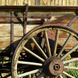 Old Antique Wagon Wheel — Stock Photo #2714661