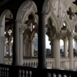 Venetian Balcony Column Design - ストック写真