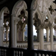 Venetian Balcony Column Design - Stock Photo