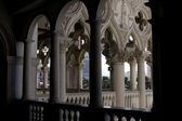 Venetian Balcony Column Design — Stock Photo