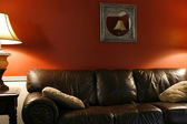 Lamp and the Couch — Stock Photo