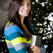 Beautiful Teenager holding a Book — Stock Photo #2733264