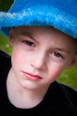 Little Kid Looking — Stock Photo