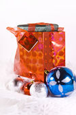 Bag with Present — Stock Photo