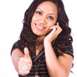 Beautiful Girl Giving the Thumbs Up — Stock Photo #2745928