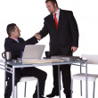 Two Businessmen Shaking Hands — Stock Photo #2746371