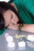 Teen Drug Problem - Overdose — Stock Photo