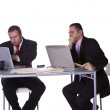 Businessmen Working Together — Stock Photo #2775450