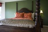 Classic Stylish Bedroom — Stock Photo