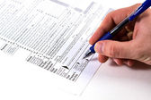 Vergi hazırlama — Stok fotoğraf