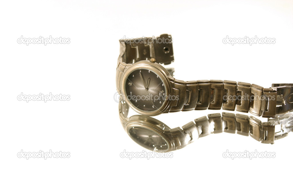 Isolated Wrist Watch - White Background — Stock Photo #2775567