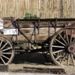 Stock Photo: Old Antique Wagon