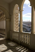 Venetian Balcony Columns and Arches — Stock Photo
