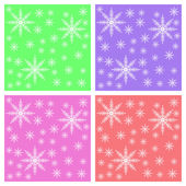 Snowflake background for Postcards — Stock Photo