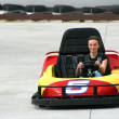 Teenager on Go Cart — Stock Photo #2862616