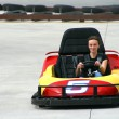 Teenager on the Go Cart — Stock Photo #2862616