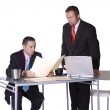 Two Businessmen Working Together — Stock Photo #2873715