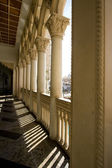 Venetian Style Balcony Columns — Stock Photo