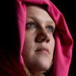 Close up on a Woman in Veil — Stock Photo