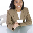 Businesswoman at Her Desk — Stock Photo #3009479