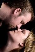 Romantiska par — Stockfoto