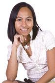 Gros plan d'une fille de belle polyneasian — Photo