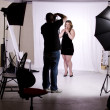 Stock Photo: Photographer in Studio