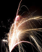 Firecrackers In The Sky — Stock Photo