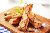 Sfogliatine puff pastries — Stock Photo