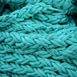 Stock Photo: Turquoise rope