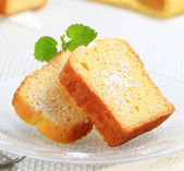 Pound cake — Stock Photo
