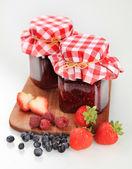 Fruit preserves — Stock Photo