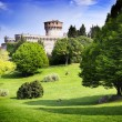 Medieval castle in Tuscany — Stockfoto