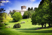 Medieval castle in Tuscany — Stock Photo