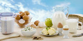 Dairy products — Foto Stock