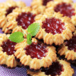 Jam cookies — Stock Photo