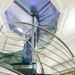 Modern spiral staircase - Stock Photo