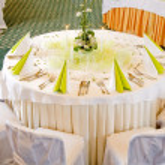 Fine table setting — Stock Photo