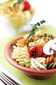 Tricolor pasta — Photo