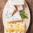 Royalty-Free Stock Photo: Variety of cheeses