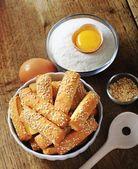 Crispy snacks — Stock Photo