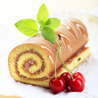 Stock Photo: Swiss roll