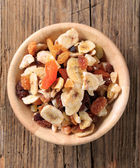 Mixed dried fruit — Stock Photo