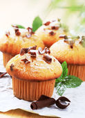 Fresh muffins — Stock Photo