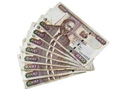 Kenyan currency — Stock Photo