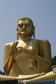 Buddha at dambulla — Stock Photo